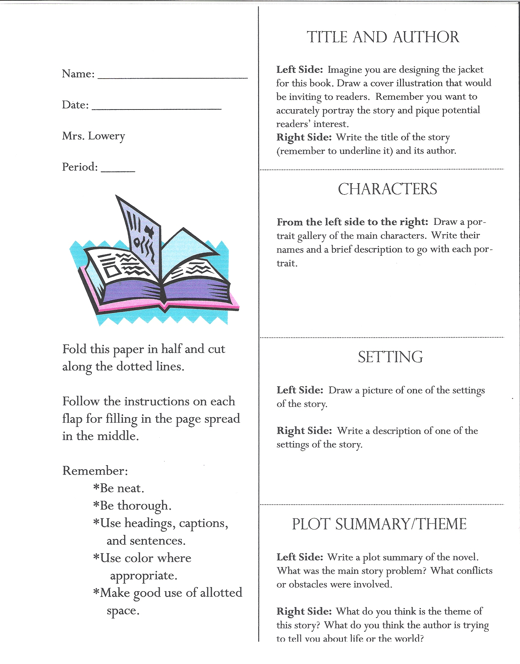 custom book report This page has been written to help you with your book report.