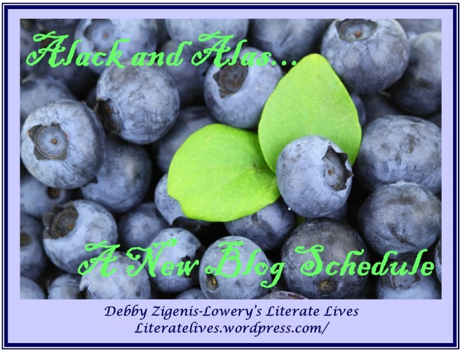 New Blog Schedule: Literate Lives