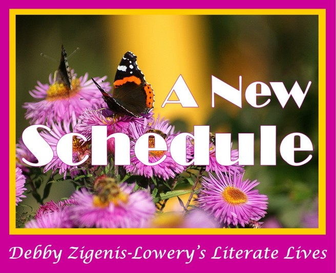Fall 2018: A New Schedule for Literate Lives; https://literatelives.wordpress.com/